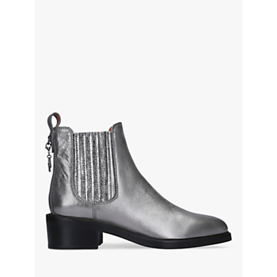 Coach Bowery Chelsea Block Heel Ankle Boots