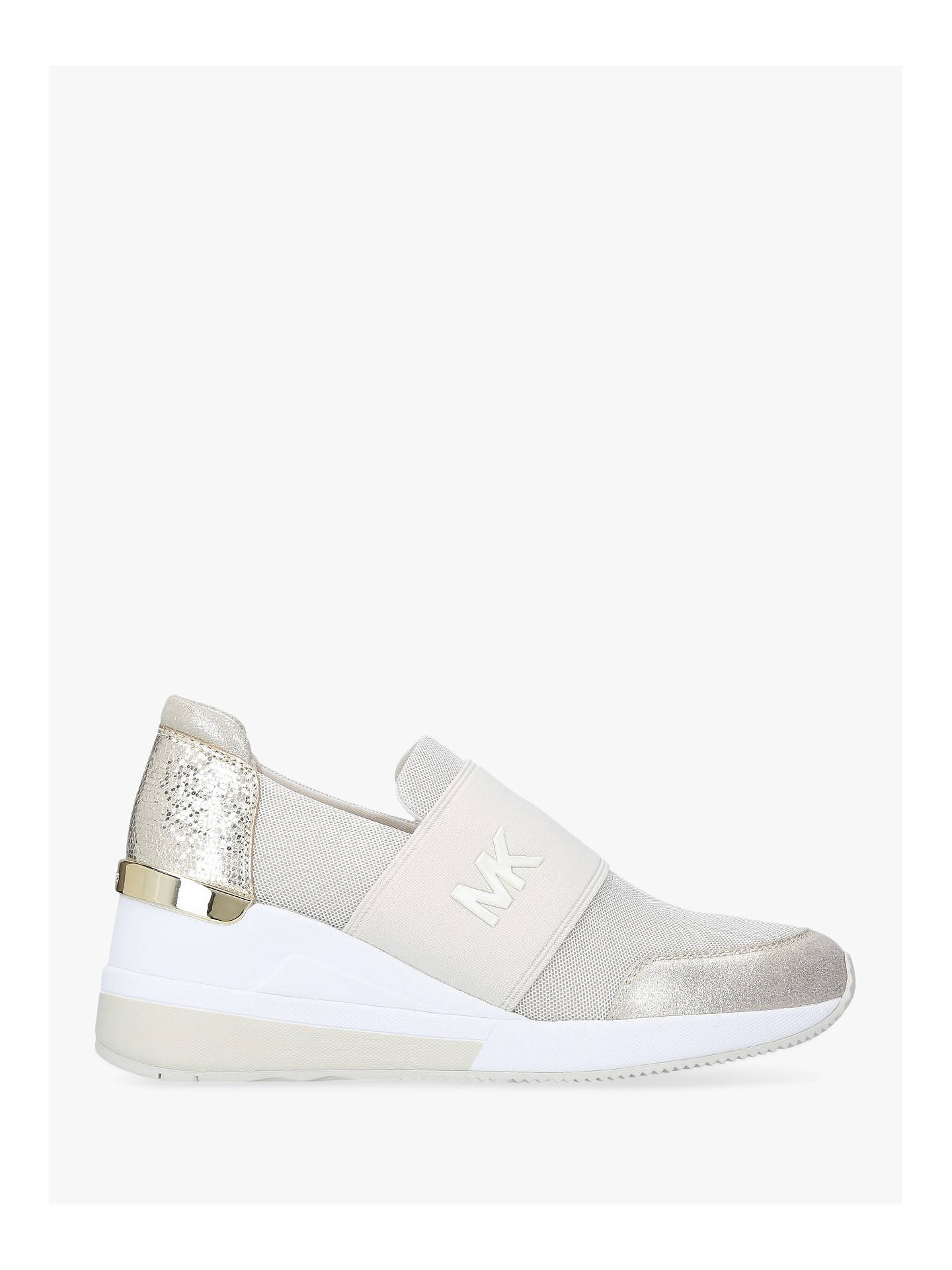 Michael Michael Kors Felix Trainers At John Lewis Partners