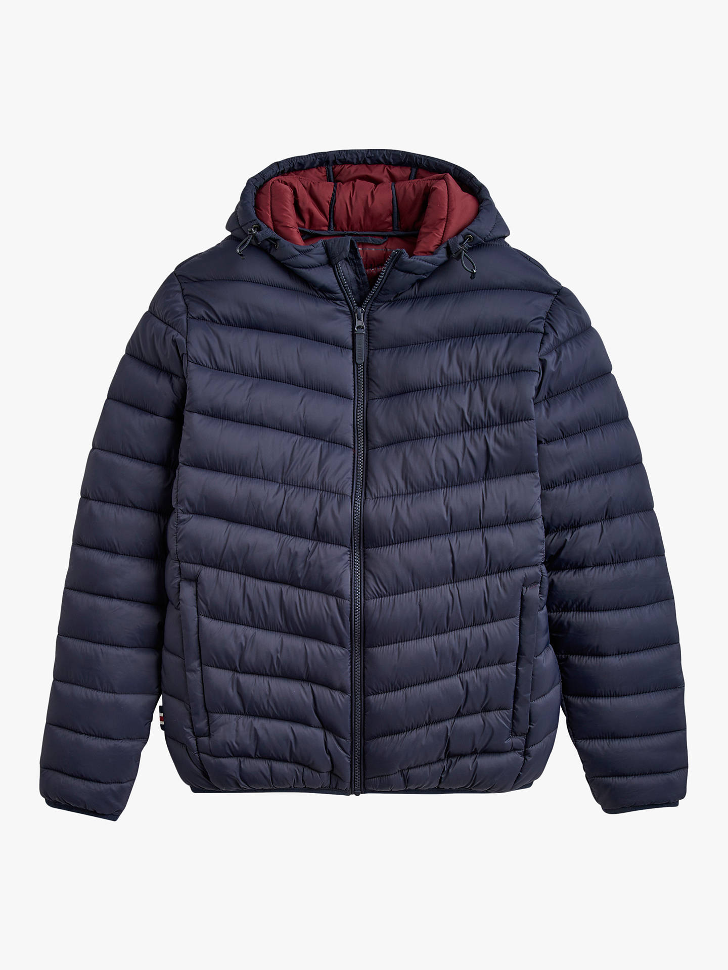5ac2507ff Joules Chevron Quilted Jacket, Blue