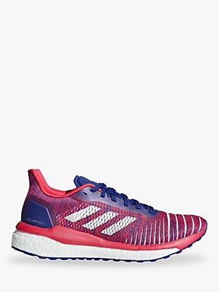 adidas Solardrive Women's Running Shoes, Active Blue/FTWR White/Shock Red