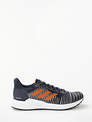 new photos b6270 f0543 adidas Solar Ride Mens Running Shoes, Legend InkTrue Orange