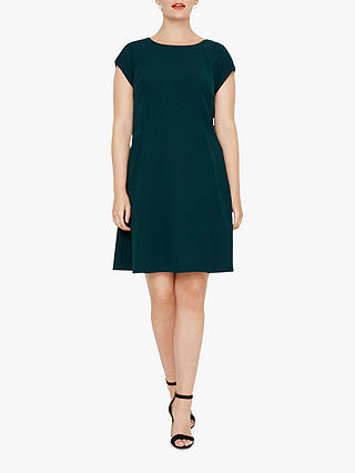 Buy Studio 8 Julia Swing Dress, Pine Green, 14 Online at johnlewis.com