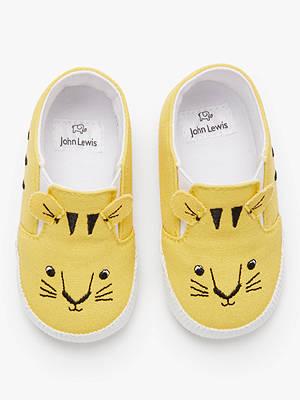 054ac1b3162f Buy John Lewis   Partners Baby Tiger Plimsoles
