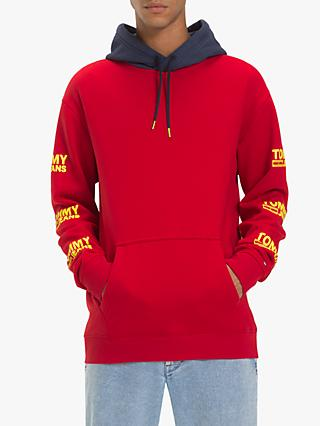 Tommy Jeans Graphic Hoodie, Samba Red