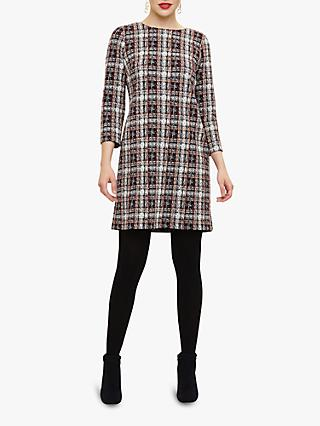 Phase Eight Chasity Check Tunic Dress, Multi