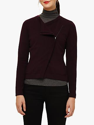 Phase Eight Brielle Cardigan, Port