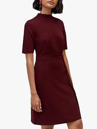Warehouse Ponte Knot Dress