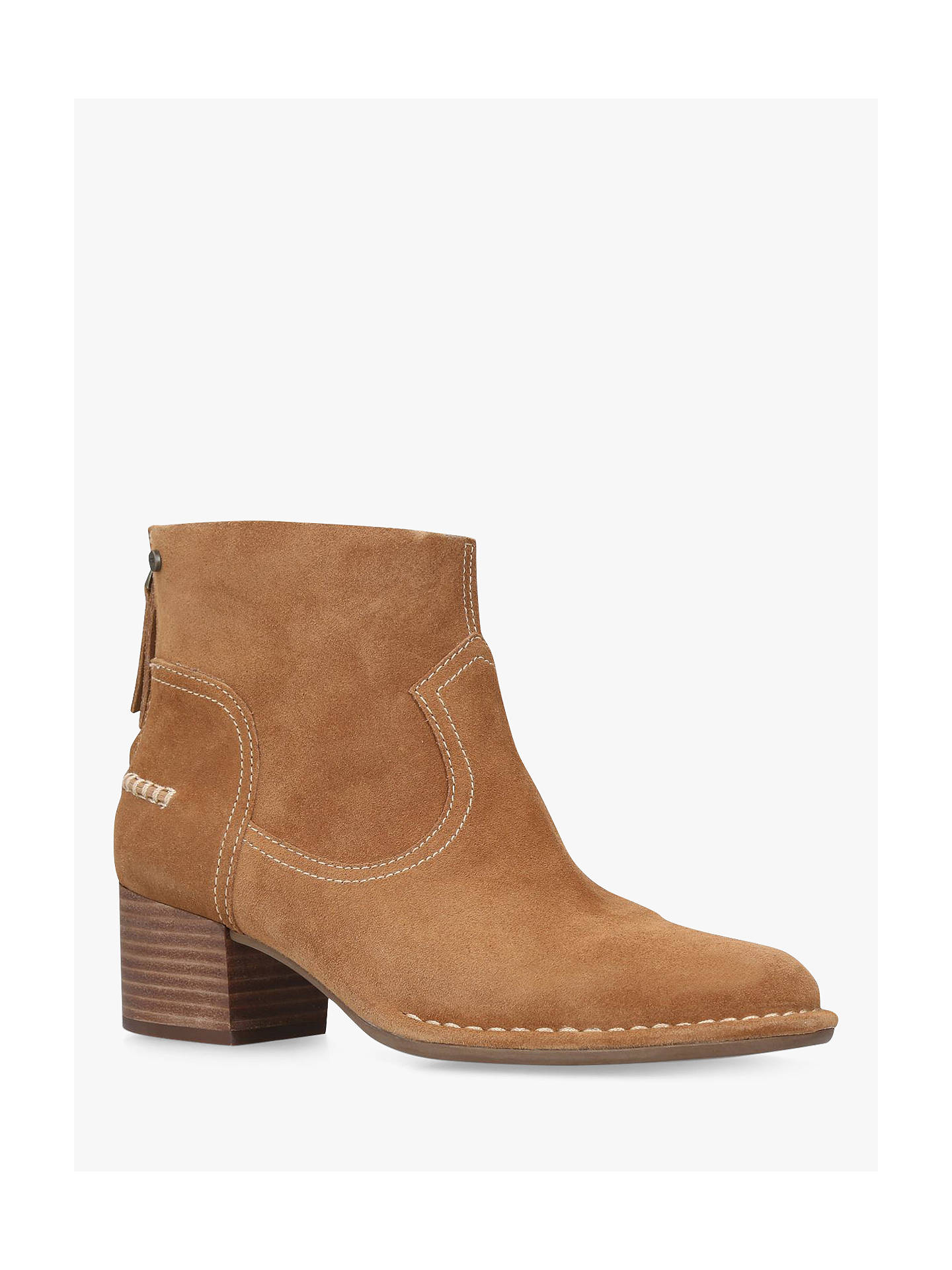 78243e99202 UGG Bandara Block Heel Ankle Boots at John Lewis & Partners