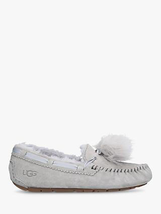 48b46a62aea UGG Dakota Moccasin Pom Sheepskin Slippers