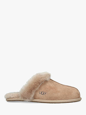 BuyUGG Scuffette II Sheepskin Slippers, Mid Brown, 3 Online at johnlewis.com