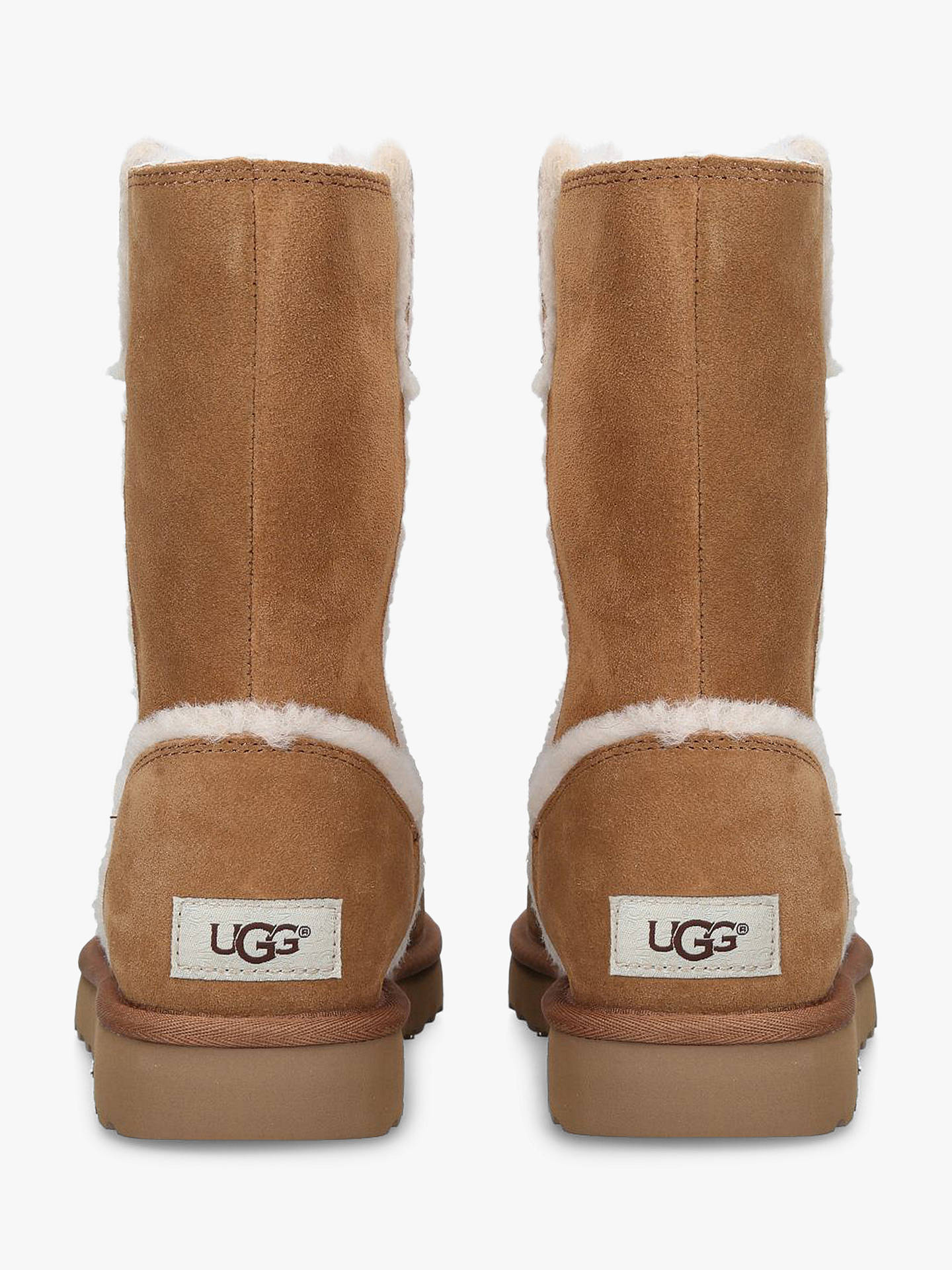 5cbade8e078 UGG Classic Short Spill Seam Boots at John Lewis & Partners