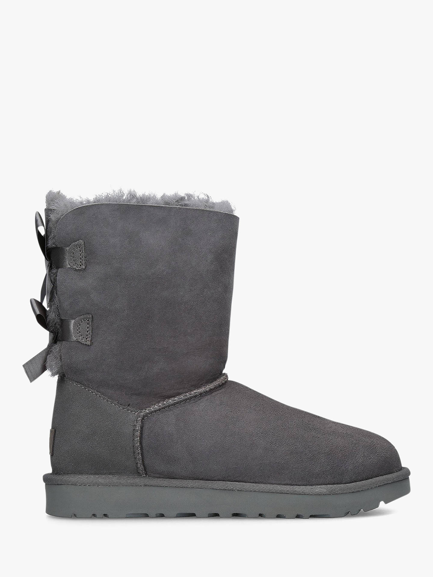 ac391489e81 UGG Bailey Bow Sheepskin Short Boots at John Lewis & Partners