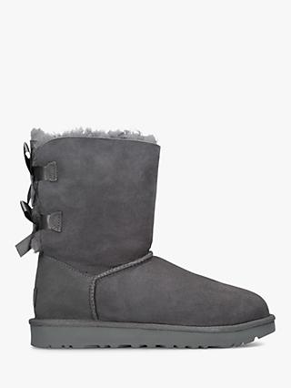 UGG Bailey Bow Sheepskin Short Boots