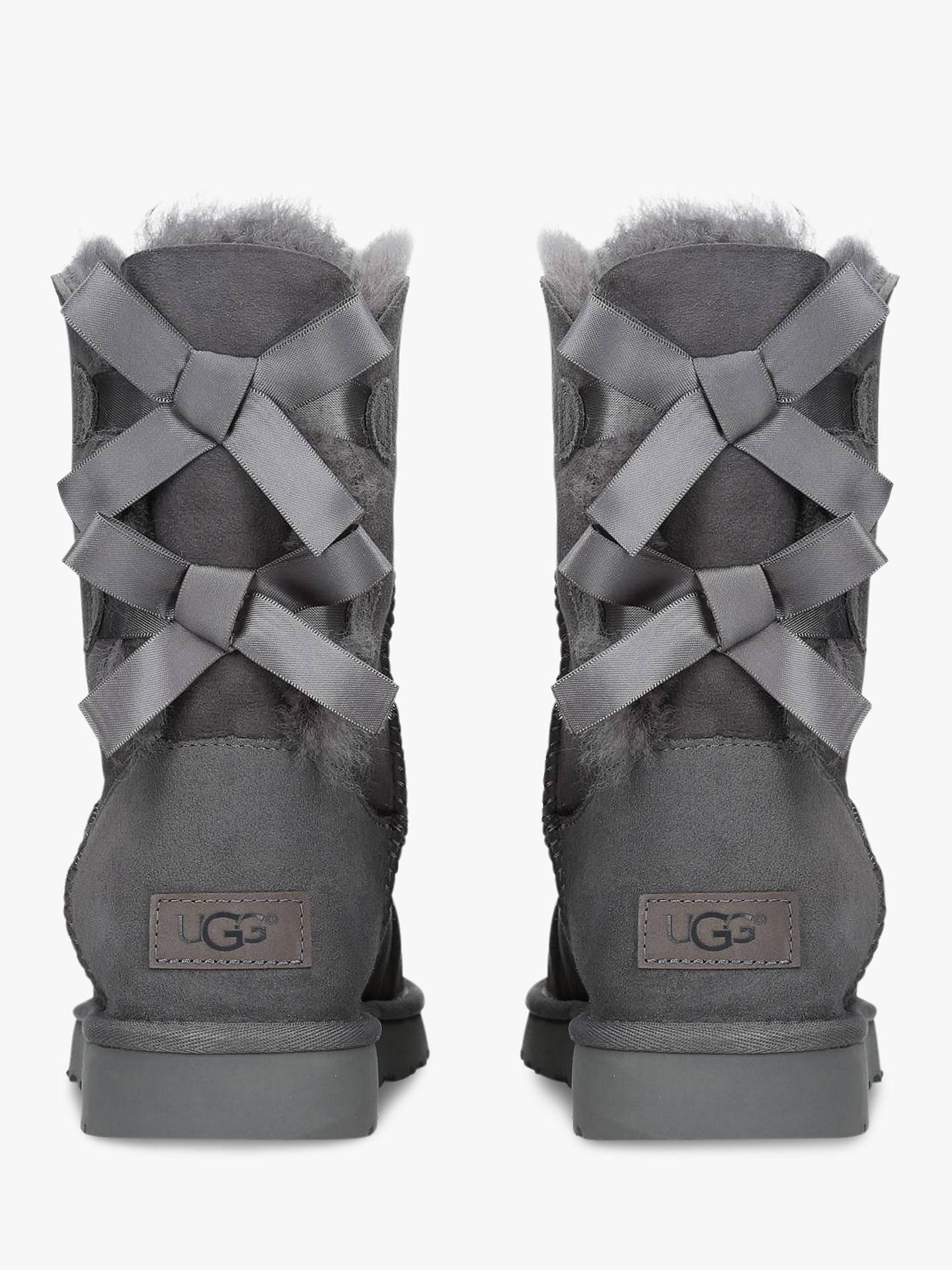 ac391489e81 UGG Bailey Bow Sheepskin Short Boots at John Lewis & Partners