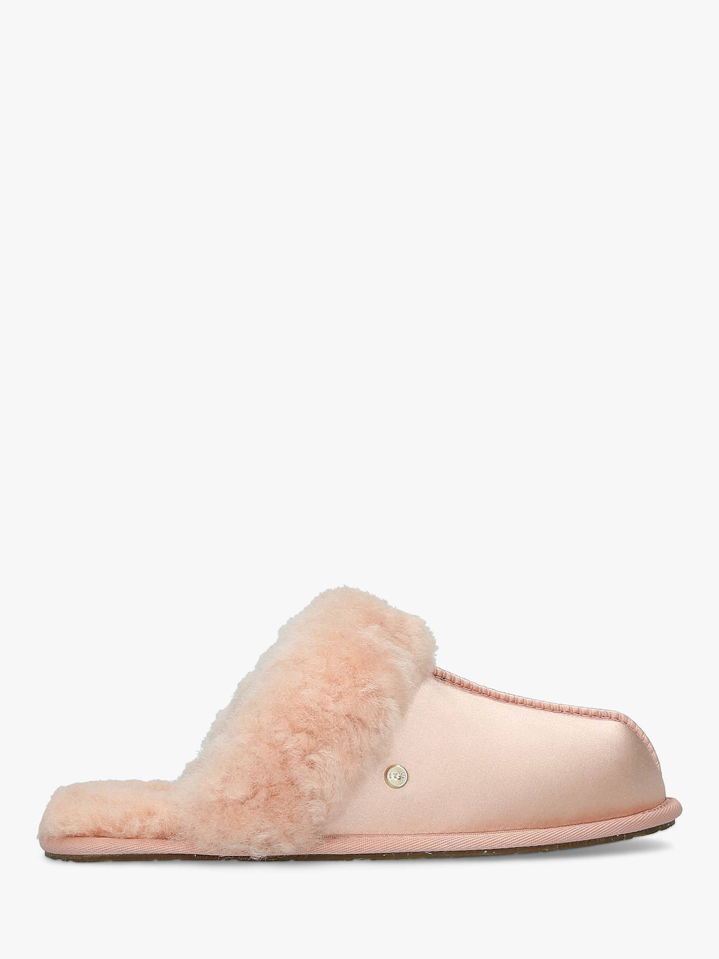 ddeb38e2a77 UGG Satin Scuffette Slippers at John Lewis & Partners