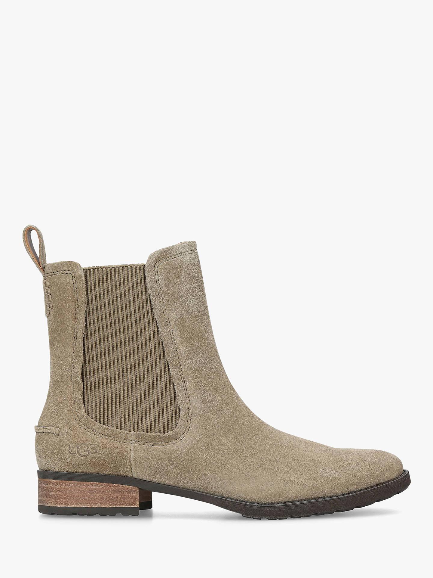 15086e618 Buy UGG Hillhurst Ankle Boots, Mid Brown Suede, 5 Online at johnlewis.com  ...