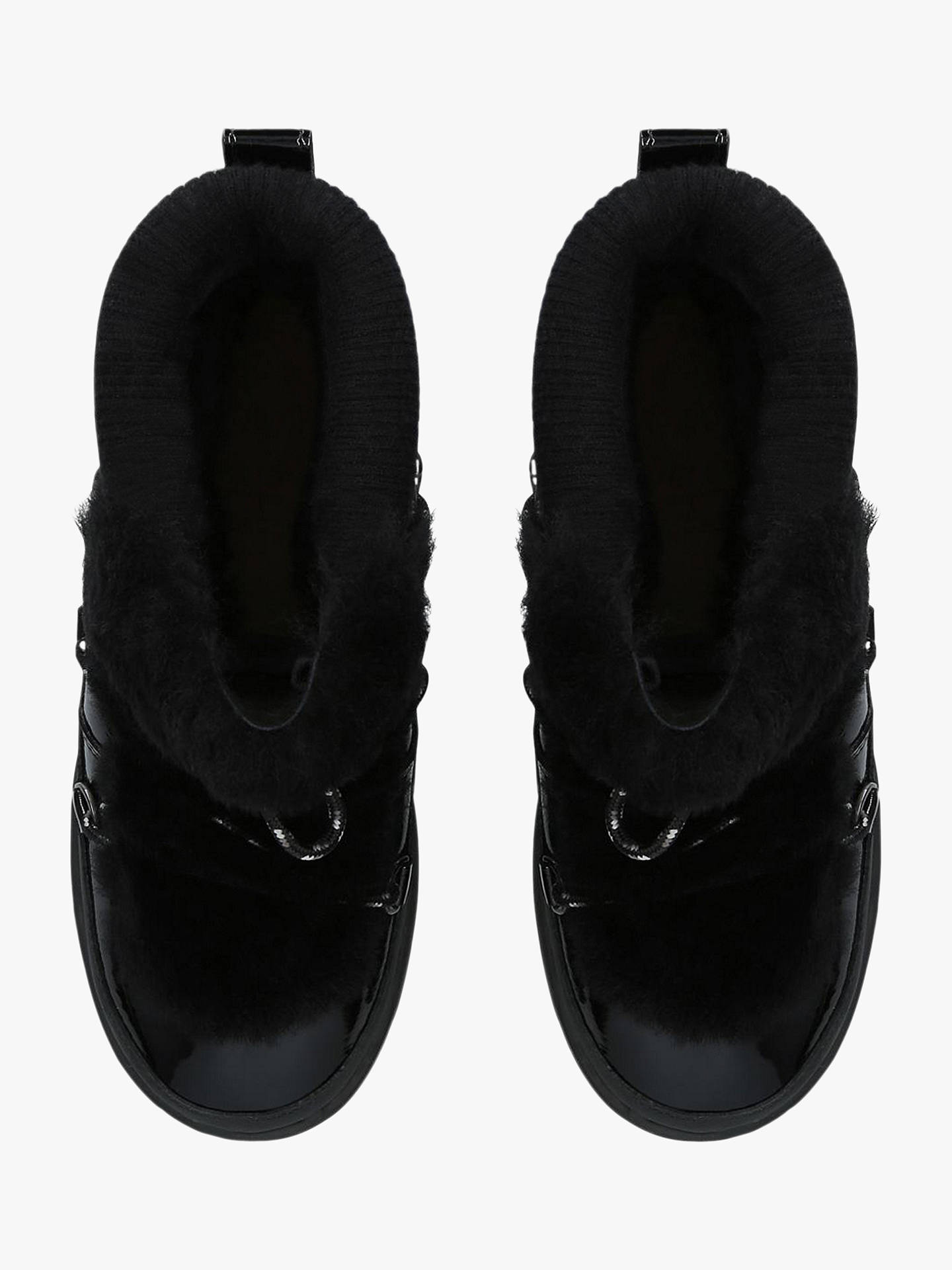 a80585f71a8 UGG Highland Waterproof Ankle Boots, Black Leather at John Lewis ...