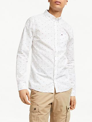 Tommy Jeans Dobby Shirt, Classic White
