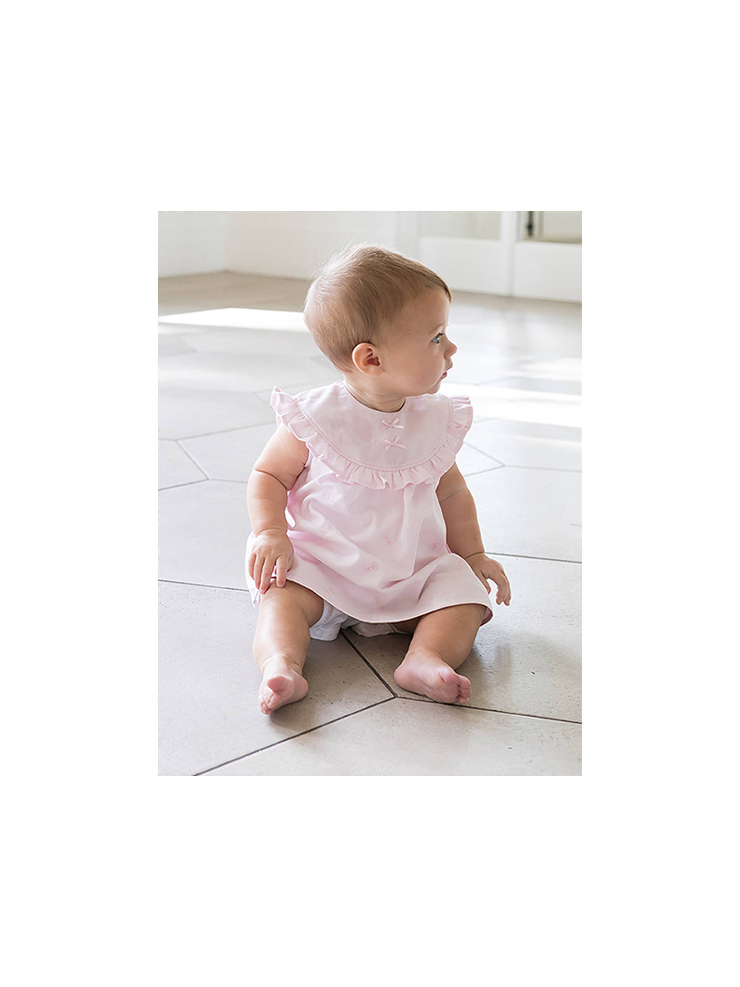 a3d7d074e ... Buy Emile et Rose Baby Phillipa Dress, Shorts and Teddy Bear Set, Light  Pink ...