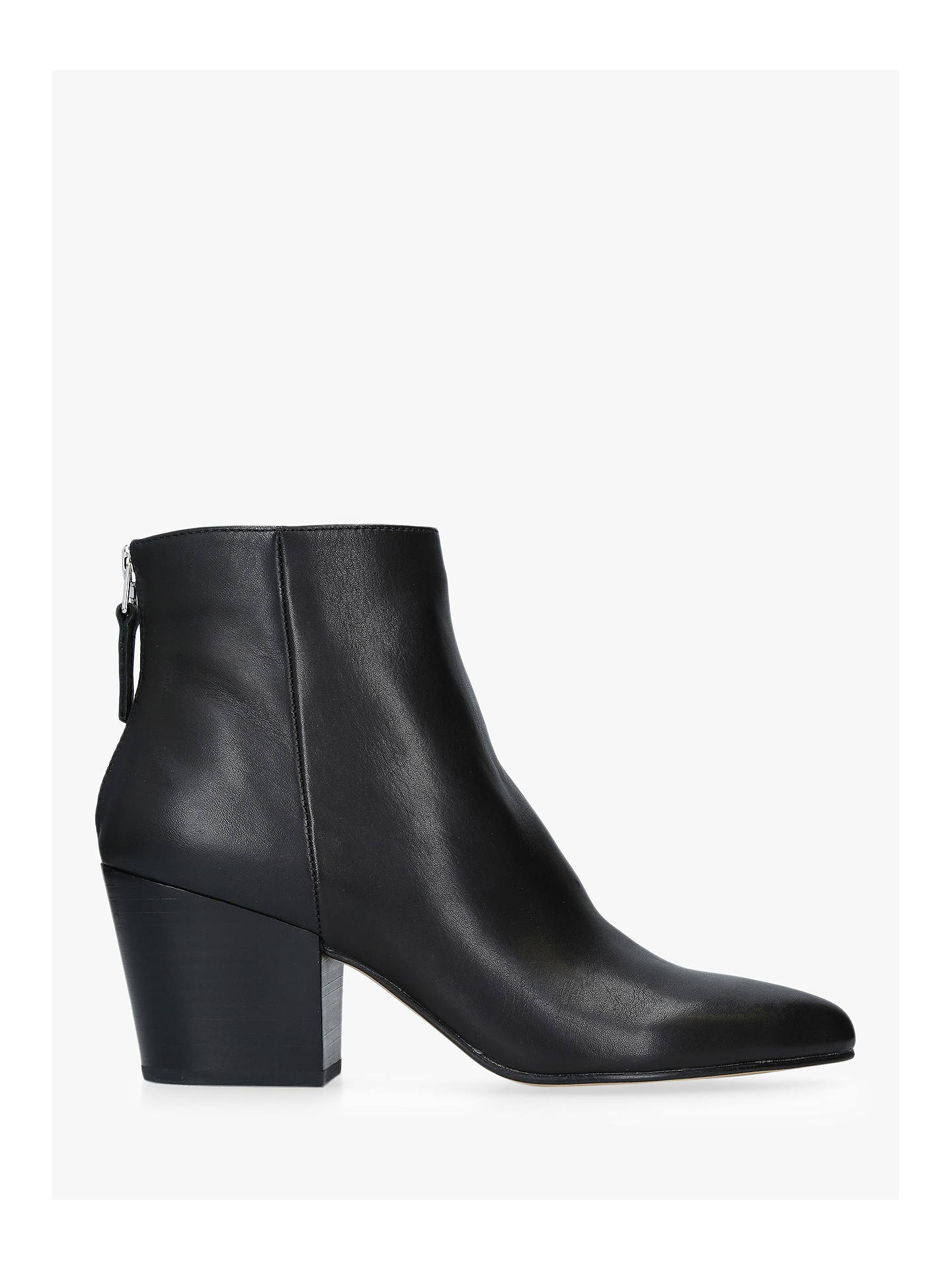 b011978200246 Buy Dolce Vita Coltyn Block Heel Ankle Boots, Black Leather, 4 Online at  johnlewis ...