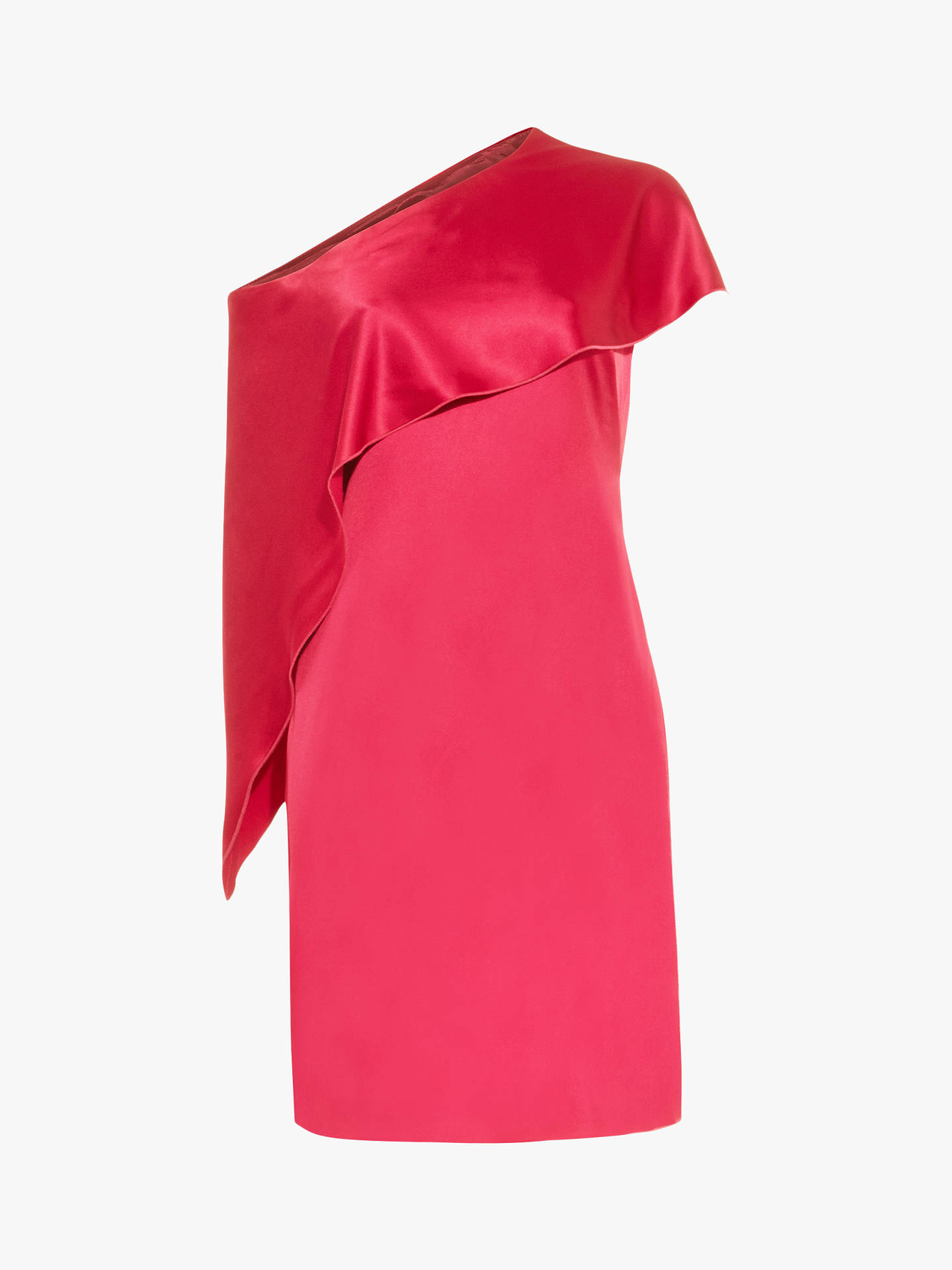 BuyDamsel in a Dress Asymmetric Frill Lissy Dress, Deep Rose, 16 Online at johnlewis.com