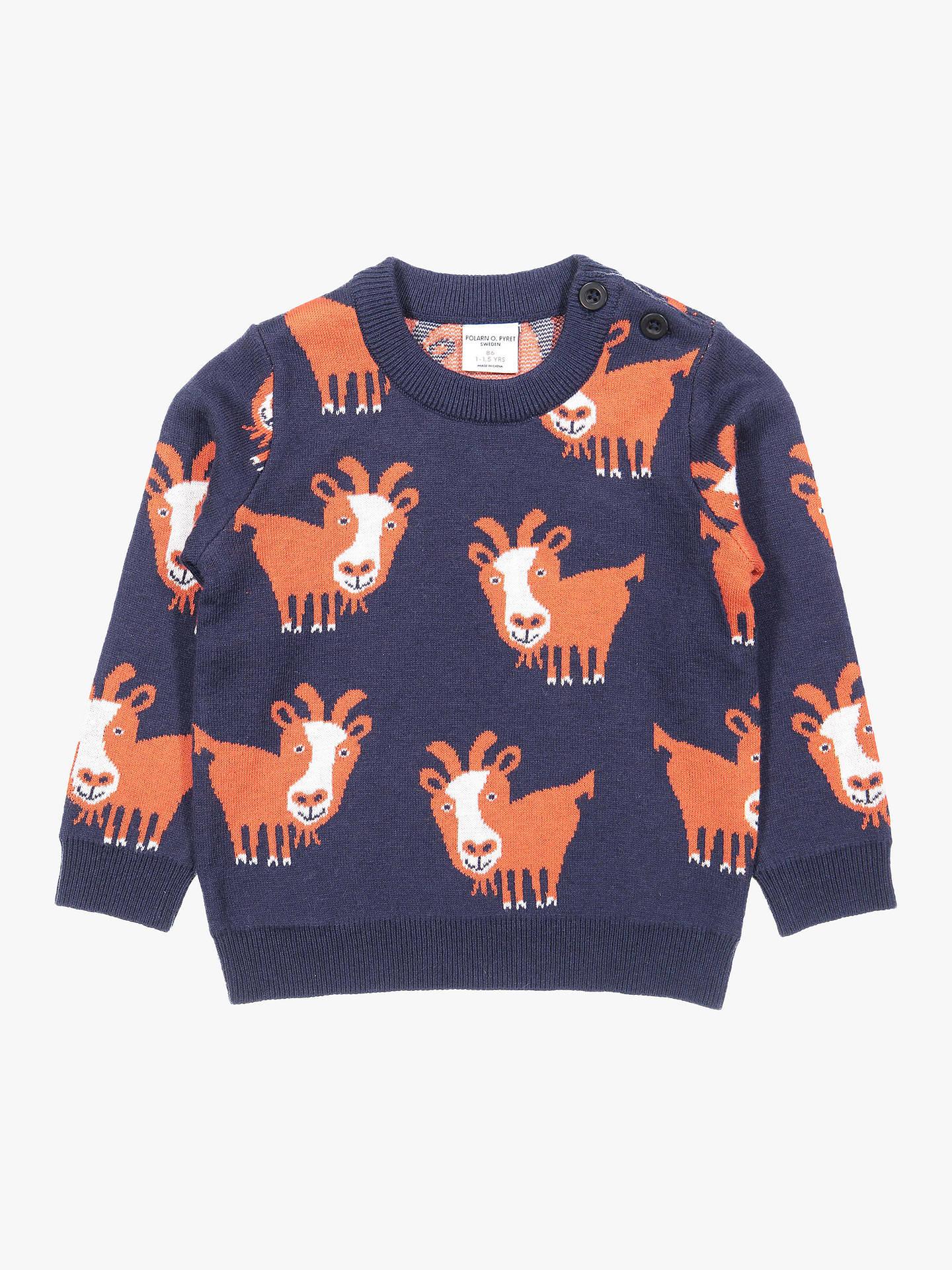 11f4f35f8 Polarn O. Pyret Baby Goat Jumper