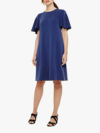Phase Eight Sari Ruffle Sleeve Ponte Dress
