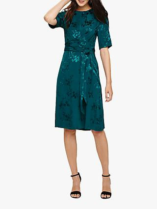 Phase Eight Jaimee Jacquard Dress, Jade