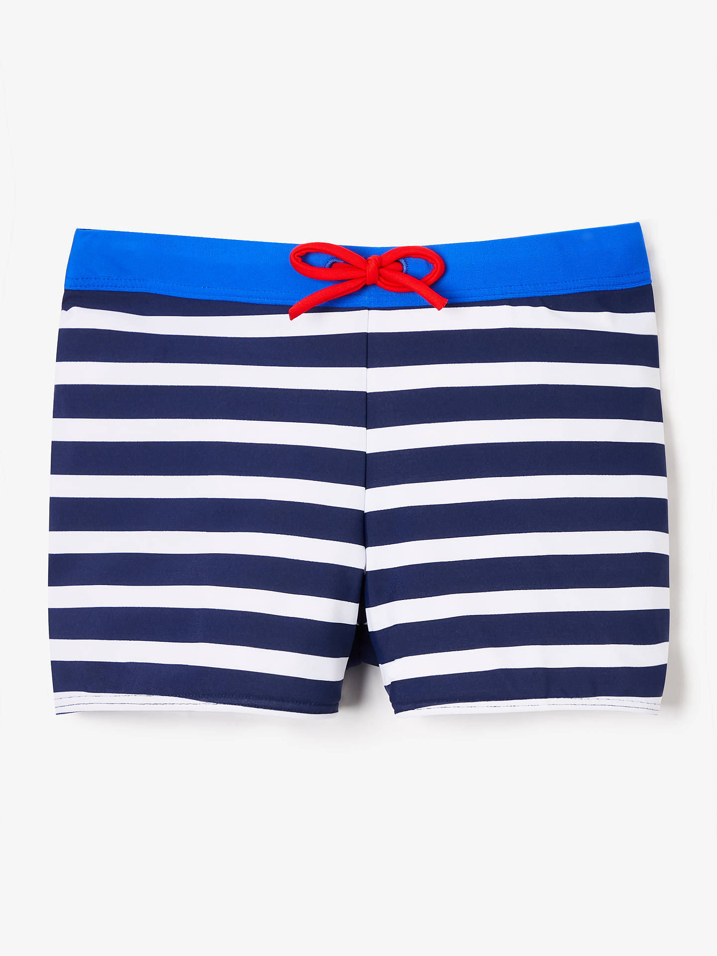 f11ae4e1d Buy John Lewis   Partners Boys  Stripe Print Swimming Trunks