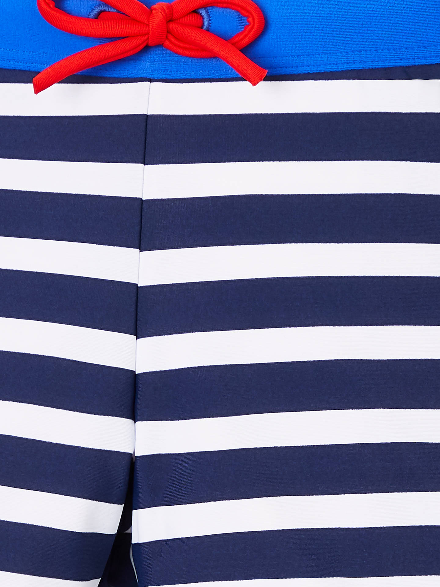 630c65cda ... Buy John Lewis   Partners Boys  Stripe Print Swimming Trunks