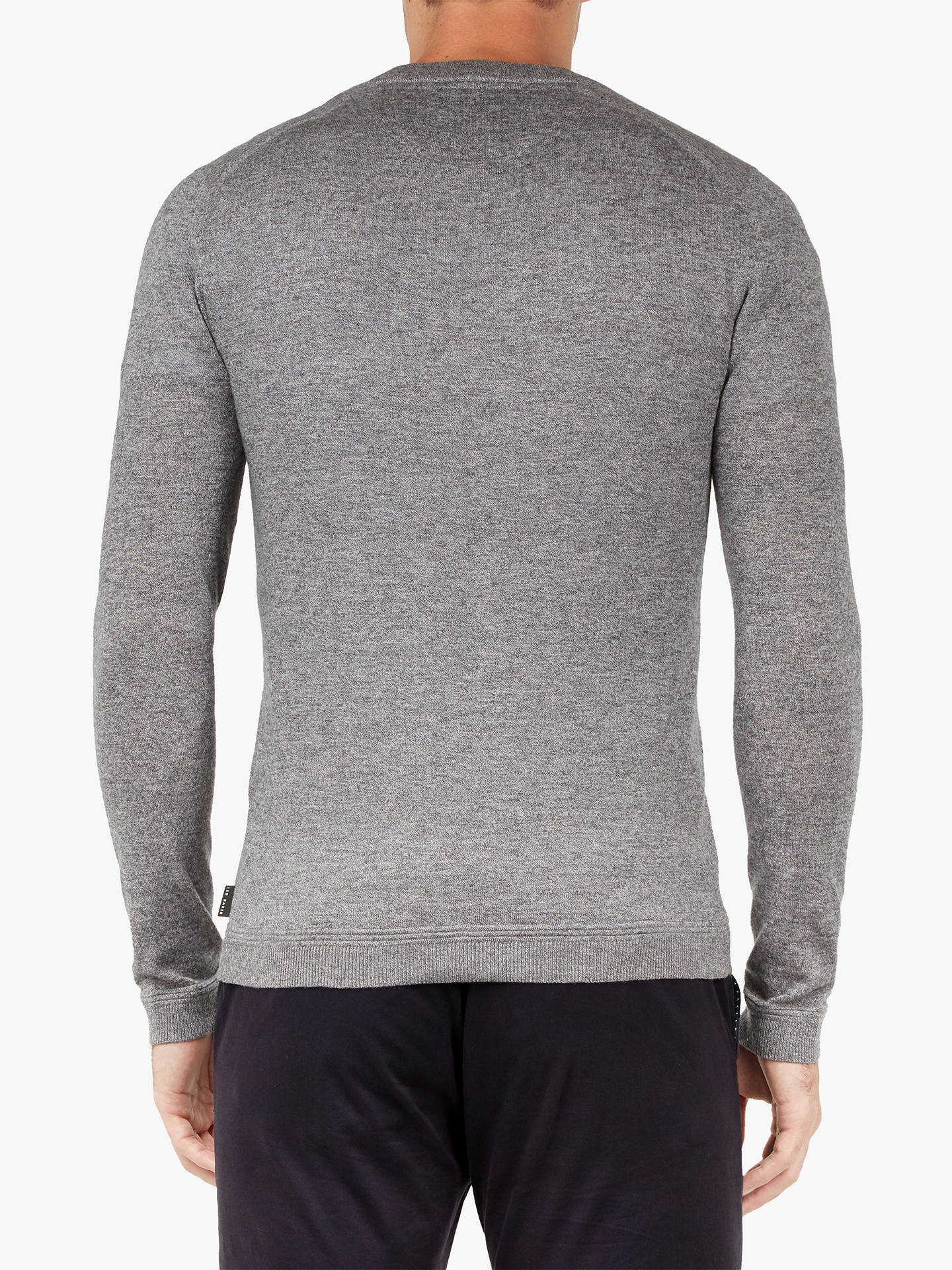Buy Ted Baker Noel Jumper, Grey Mid, 1 Online at johnlewis.com