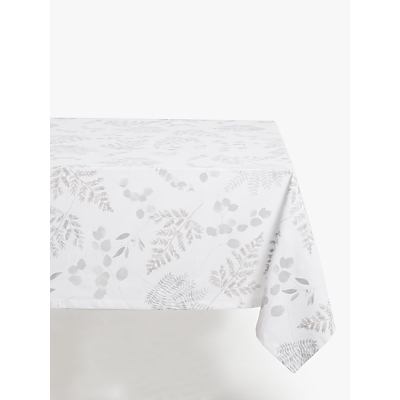 John Lewis & Partners Wisley Tablecloth, White/Multi