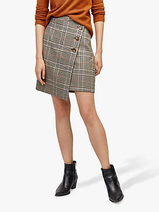 Warehouse Honey Pelmet Skirt, Multi