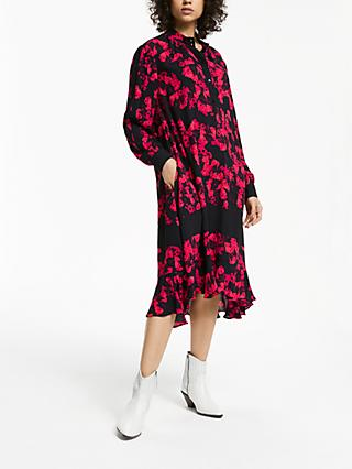 AND/OR Donatella Rara Floral Dress, Pink/Multi