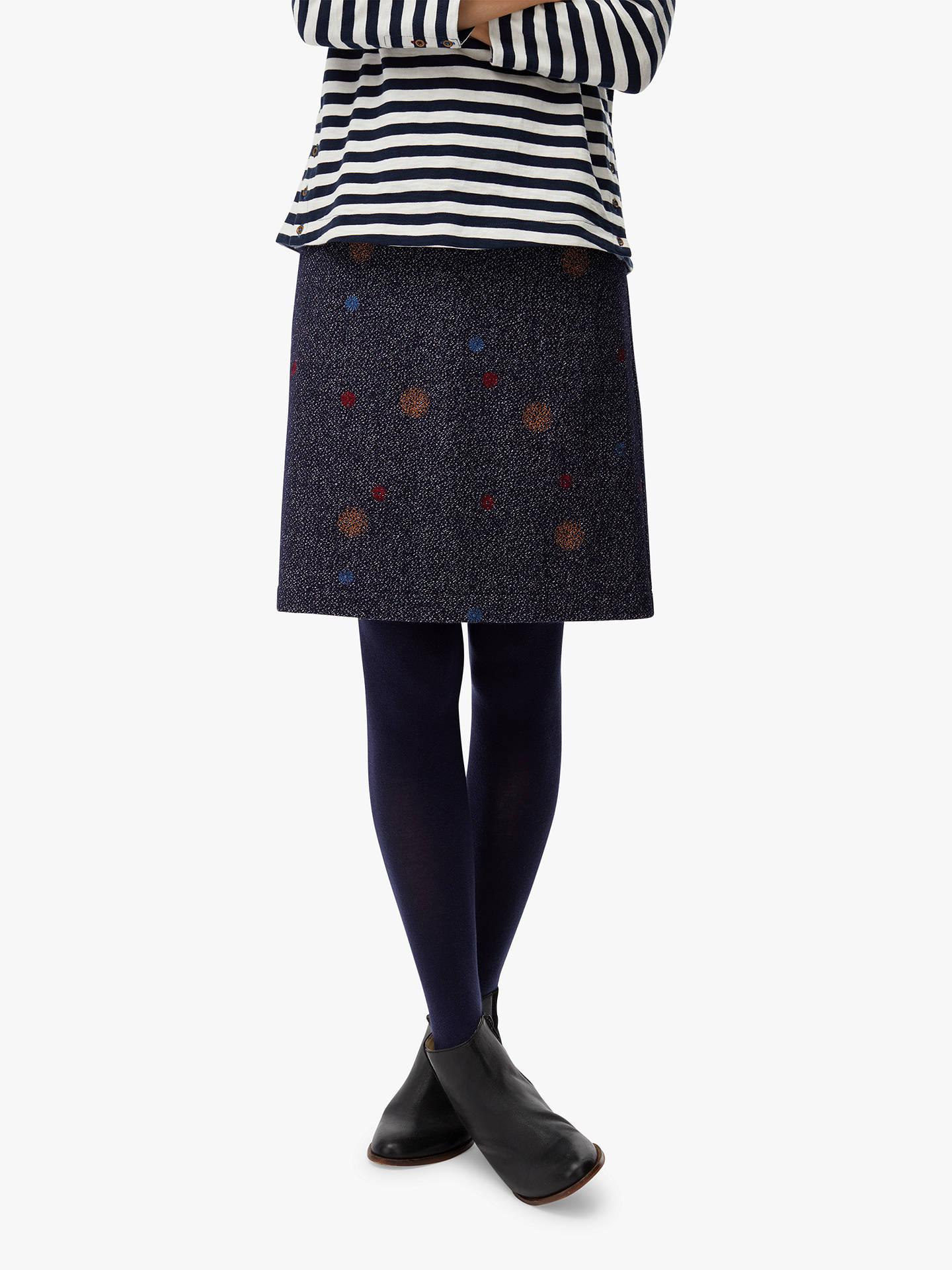 ed38b024b0 Buy White Stuff Koko Spot Print Short Skirt, Navy/Multi, 6 Online at ...