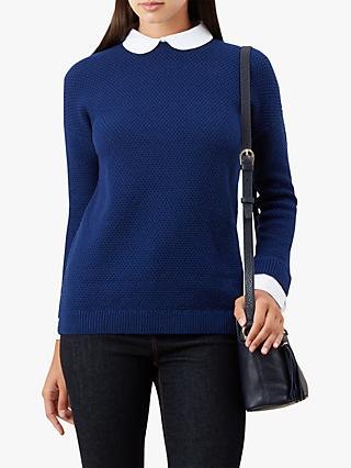 Hobbs Chelsey Jumper, French Blue