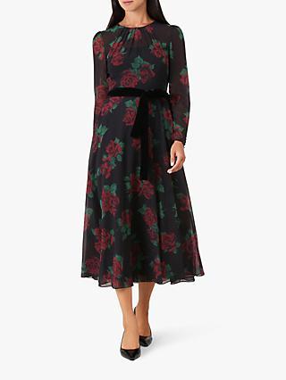 Hobbs Lolita Dress Multi