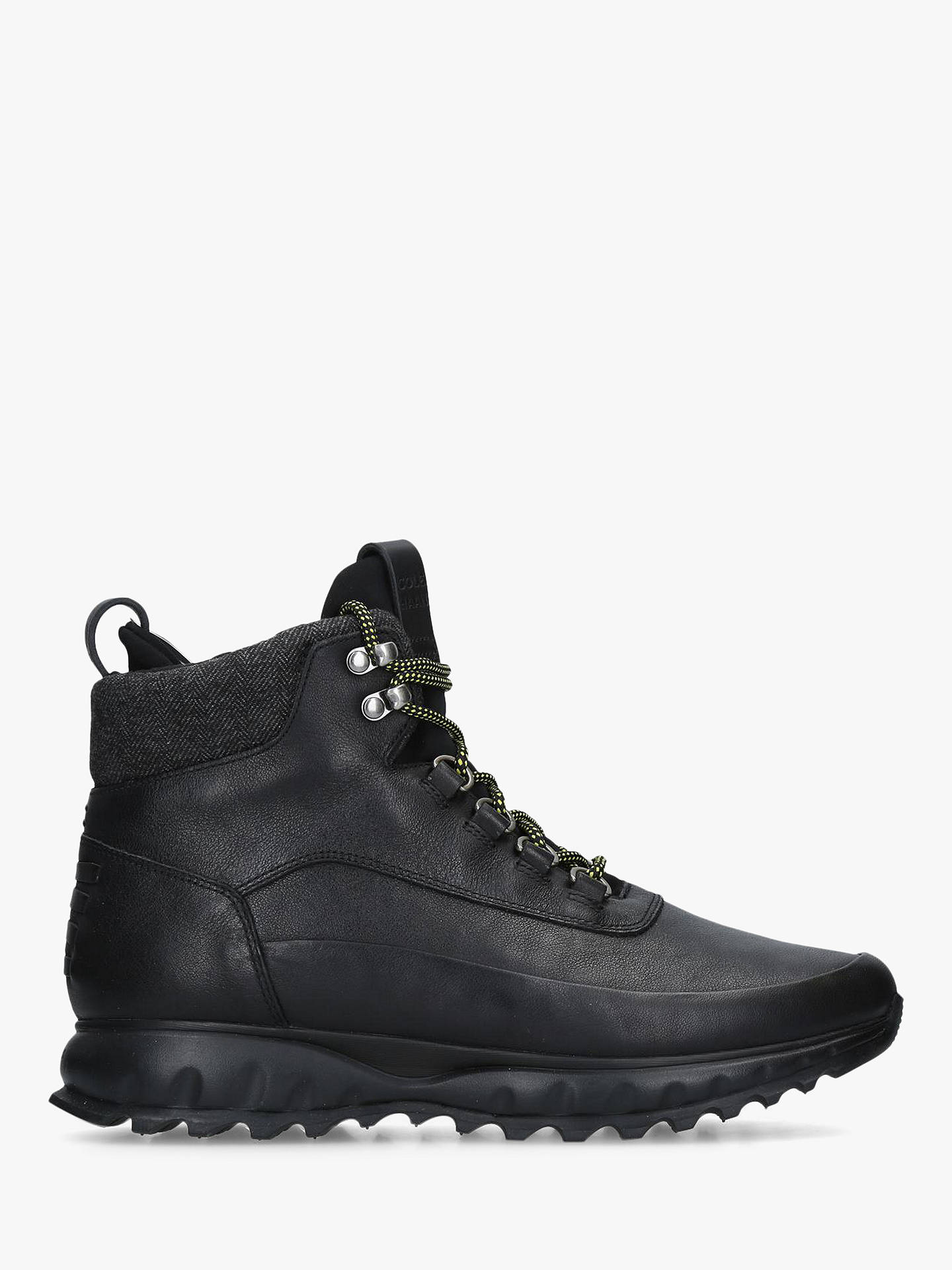 73b18689c78 Cole Haan Grand Explore Lace Up Hiker Boots, Black Leather