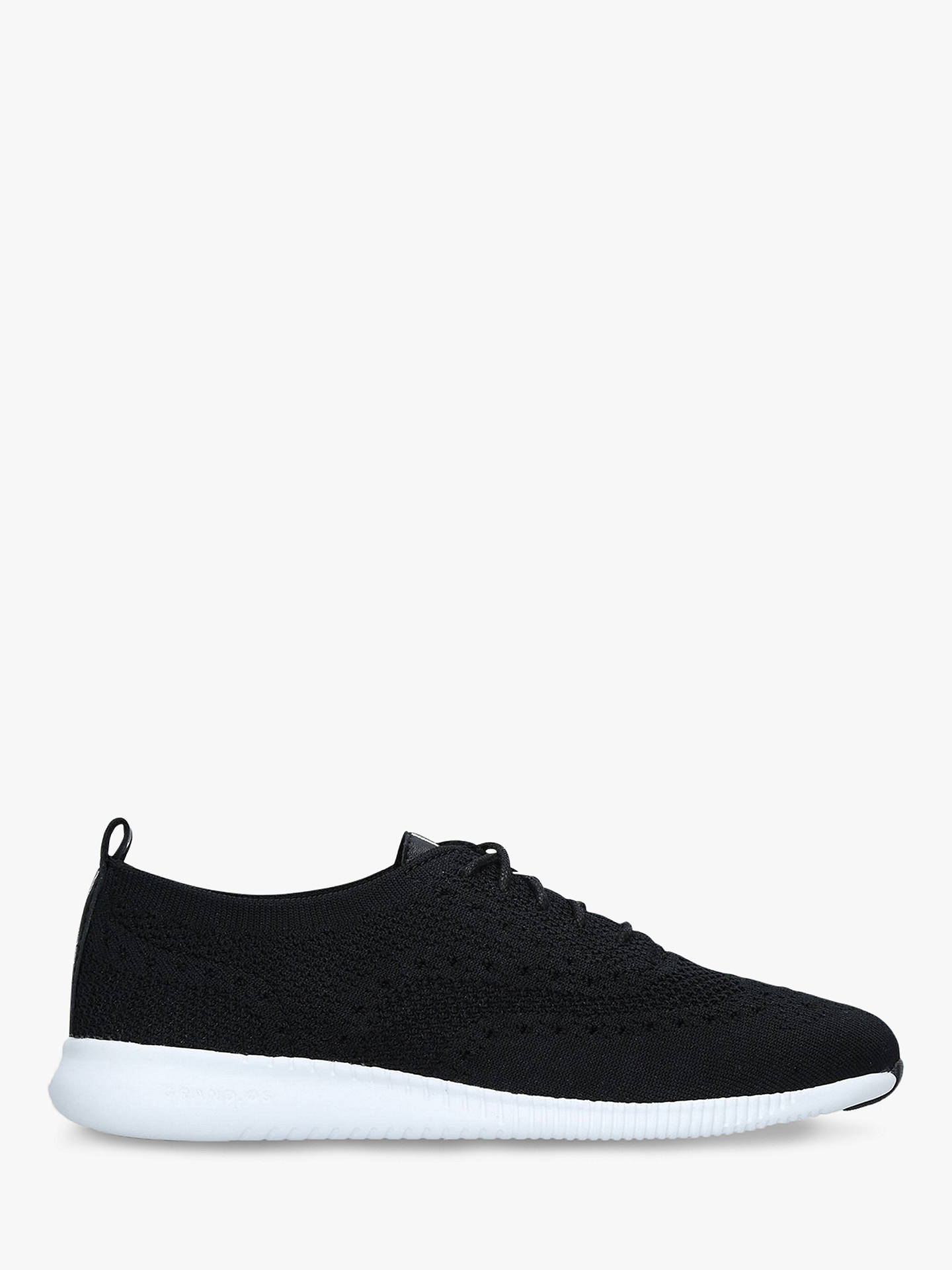 7c90a4e63c6 Cole Haan Zero Stitch Lace Up Trainers, Black