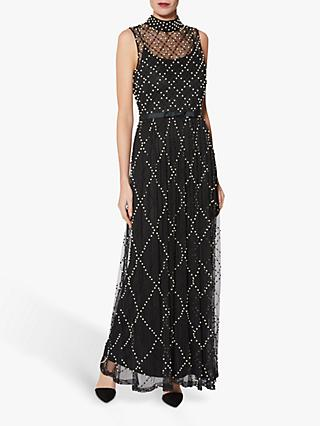 Gina Bacconi Kaila Maxi Dress, Black