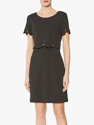 Gina Bacconi Noelia Crepe Shift Dress