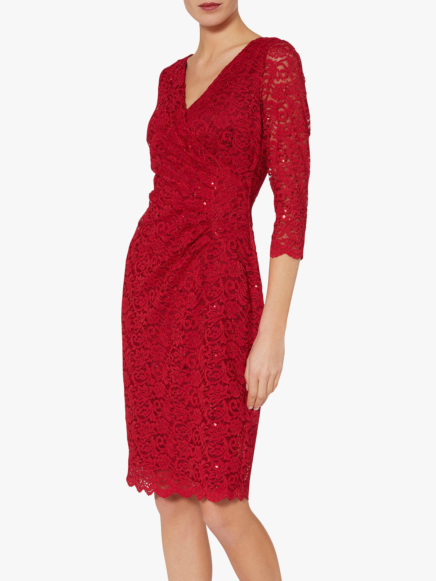 626321fef2a2 Buy Gina Bacconi Aruna Floral Lace Dress