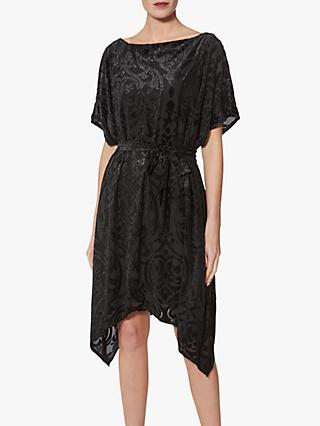 Gina Bacconi Oleta Kaftan Dress, Black