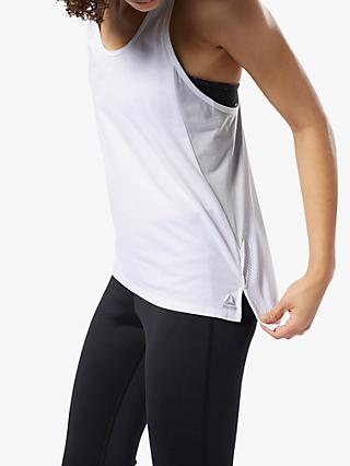 Reebok SmartVent Training Tank Top, White