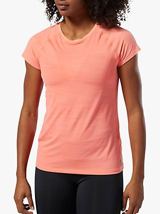 Reebok One Series ACTIVChill Vent Training Top, Stellar Pink