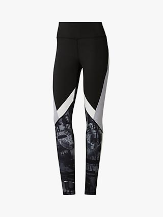 ec450eee8 Reebok Workout Ready Meet You There Panelled Training Tights