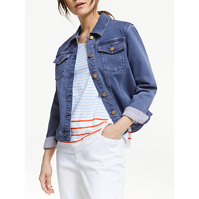 Collection WEEKEND by John Lewis Denim Jacket, Mid Blue