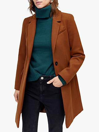Warehouse Single Breasted Coat