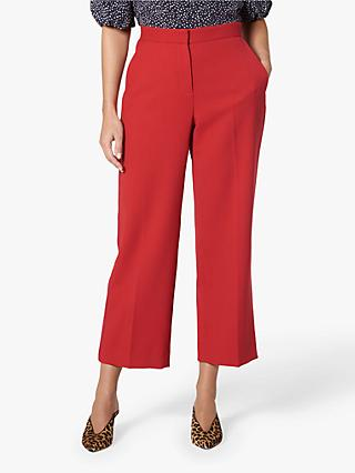 L.K.Bennett Adriana Trousers, Red