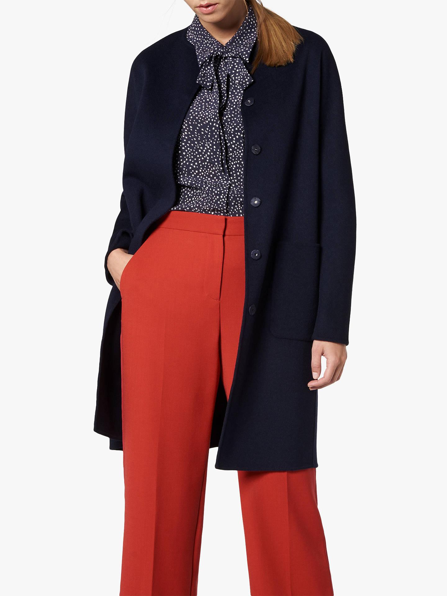 a7f6689dd L.K.Bennett Pandora Wool Coat at John Lewis   Partners